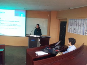 Eunjin's Presentation
