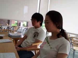 Hwigeon and Eunjin