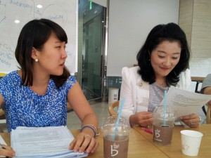 Jessica and professor Lee