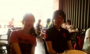 Eunjin and Hwi geon
