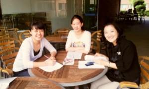 Seong jee, Eunjin, and Professor Lee