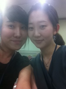 Jessica and Eunjin