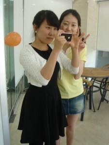 Jessica and Eunjin