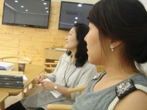 Profeessor Lee and Jessica
