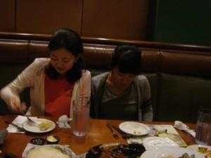 Eunjin and Jessica