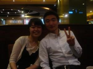 Seong jee and Byung jik