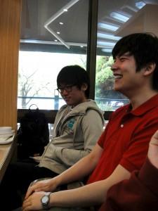 Hwigeon and Junha
