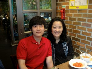 Junha and Professor Lee
