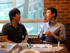 Mr.Kim and Jinon