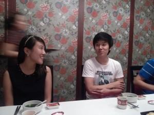 Jessica and Yun Chul