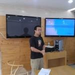 Dae In's presentation