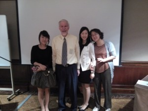 With Dr. Marquardt