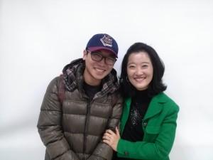 Yong tak and Professor Lee