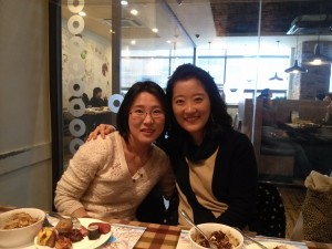 Yeonah and professor Lee
