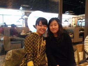 Seong jee and So yeon