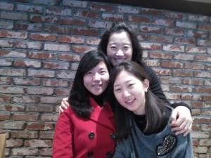 Hoi soo, Professor Lee, and Eunjin