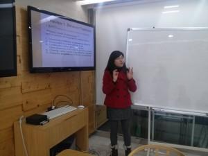 Hoi soo's presentation