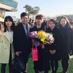 Taehyun undergrad graduation