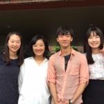 Eunjin, Professor, Taehyun, & Yekang